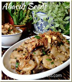 An auspicious Chinese Dish - Hakka Abacus Seeds 算盘子 Asian Snacks, Asian Desserts, Asian Foods, Hakka Recipe, Asian Kitchen, Easy Asian Recipes, Malaysian Food, Asian Cooking, Cooking Recipes