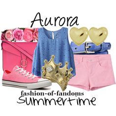 Aurora, created by fofandoms on Polyvore