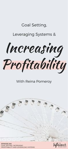 """Listen this new Podcast Episode that'll help you to set your goals, leverage systems and increase your profitability! Also you can get a freebie that'll help you to organize your content, download """"The Verticals Method"""". The Influencer Podcast with Julie Solomon and Reina Pomeroy. #theinfluencerpodcast #blogging #bloggingtips #podcast #marketing"""