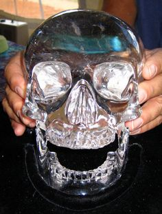 The Ancient Mitchell-Hedges Crystal Skull at one of its very rare appearances in 2007. There simply will never be an equal to its glory.