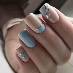 Nail Art Designs 💅 - Cute nails, Nail art designs and Pretty nails. Stylish Nails, Trendy Nails, Beautiful Nail Art, Gorgeous Nails, Amazing Nails, Pretty Nail Art, Cute Acrylic Nails, Cute Nails, Cute Short Nails