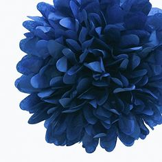 Dress My Cupcake 14Inch Navy Tissue Paper Pom Poms Set of 4 -- Find out more about the great product at the image link.Note:It is affiliate link to Amazon.