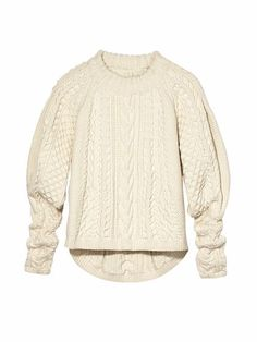 LUST:  The Row wool cashmere sweater, $4,490