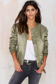 Glamorous Take Games Bomber Jacket | Shop Clothes at Nasty Gal!