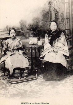 vintage everyday: Rare Photographs of Chinese Women from the 1860s and 1870s