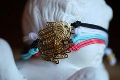 Lucky hamsa bracelet Hamsa Bracelet by ifancy on Etsy, $6.00