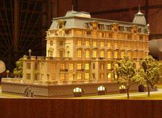 архитектурный макет Дворца