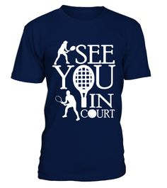 Tennis   I see you in courtT Shirt best sport team player gift