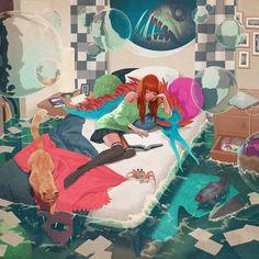 Fishbowl - Jason Chan. #art