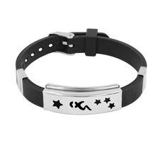 Geometric Zodiac Sign Silicone Bracelets