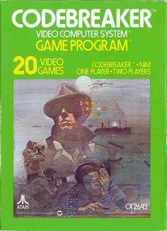 """Juego para la consola Atari 2600 """" CODEBREAKER"""" K CX 2643)"""