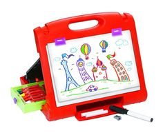 Fantastic travel easel for kids for fun on the go with no screen-time.