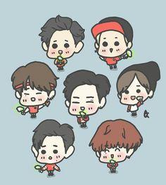 Mobile Stickers, Got7 Fanart, Doodle Ideas, Mark Jackson, Mark Tuan, Jaebum, Memes, Chibi, Jay