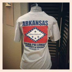 Arkansas T-Shirt.. Sigma Phi Lambda.. Fayetteville, Ar (I have this shirt!)