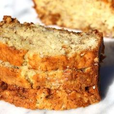 Banana Bread with Sour Cream. This moist banana bread with sour cream is so delicious. The texture of the bread is soft with a slightly crispy top. Banana Bread With Oil, Super Moist Banana Bread, Sour Cream Banana Bread, Easy Banana Bread, Chocolate Chip Banana Bread, Chocolate Chip Recipes, Banana Bread Recipes, Easy Bread Recipes, Pastry Recipes