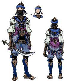 Blue Mage Concept Art