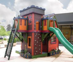 Barbara Butler-Extraordinary Play Structures for Kids -Wizards Hideout
