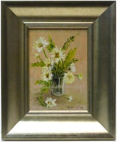Isabel Yllescas : Flowers - 28x23 cm. Isabel Yllescas Medium: Oil on wood Measurements (cm): 28x23 Canvas measurements (cm): 18x13 Interior frame: No.Flowers, seascapes, lanscapes... Little artworks ideal to make a gift.$59.33