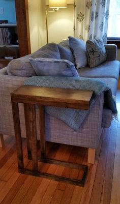 Modern Minimal End Tables by WoodChopKC on Etsy