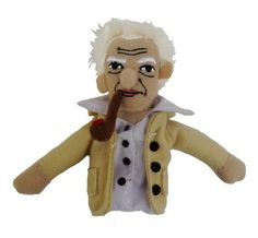 If your book nerd adores literary criticism, then a Jacques Derrida finger puppet/fridge magnet is a must!
