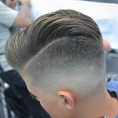 Perfect sides and back.....very skilled barber:)