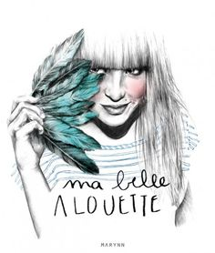 Illustrations by the young Graphic designer Marynn, living in Nantes, France
