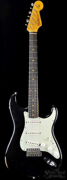 Fender 1960 Stratocaster Relic Black