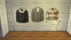 CC FOR SIMS 4: MEN'S WARDROBE PART 2