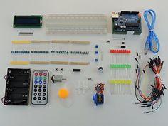 Starter KIT DIRduino avec carte UNO R3 compatible Arduino incluse, composé de 197 éléments et avec plusieurs tutoriaux disponibles en français.: Amazon.fr: High-tech                                                                                                                                                                                 Plus