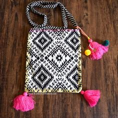 Southern Girl Fashion Bags - TASSEL BAG Embroidered Bohemian Tote Crossbody - Available #ForSale in my #Poshmark closet! #Bohemian #Chic #Style #SouthernGirlFashion #Shopping #Bags #Ethnic #Crochet #ShopMyCloset @poshmark