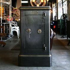 Safe Storage, Locker Storage, Antique Safe, Safe Vault, Deposit Box, Man Cave, Door Handles, Antiques, Industrial Design