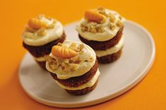 Carrot Cake Minis recipe with COOL WHIP Frosting