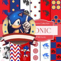 Sonic Digital SONIC DIGITAL Sonic Printable by DigitalPaperStore