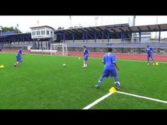 Football Training Drills, Soccer Drills, Soccer Coaching, Youth Soccer, Play Soccer, Pep Guardiola, Soccer Center, Barcelona Training, Passing Drills