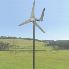 600 Watt Wind Turbine   Sunforce Products Inc. Charges both 12 volt and 24 volt battery banks!