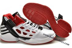 Adidas Adizero Rose 2.0 Derrick Rose Shoes White Red Black
