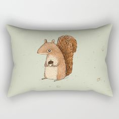 Check out society6curated.com for more! @society6 #illustration #home #decor #homedecor #interior #design #interiordesign #buy #shop #shopping #sale #apartment #apartmentgoals #sophomore #year #house #fun #cool #unique #gift #giftidea #idea #pillows  #squirrel #animal #animals #cute #adorable #toocute #drawing