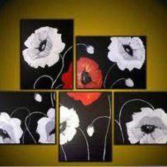 Multiple canvas art