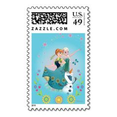 US Stamp - Frozen
