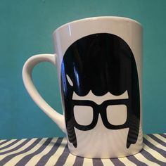 Tina Belcher Inspired Mug, Bob's Burgers Fan Coffee Tea Cup Gift RTS by theBlueMooseCo on Etsy https://www.etsy.com/listing/493282495/tina-belcher-inspired-mug-bobs-burgers
