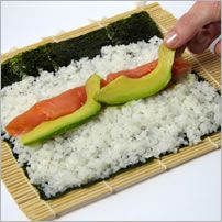 How to roll sushi step by step instructions. I know a lot of Sigma Kappas who will appreciate this! haha