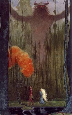 Charles Vess (stardust by neil gaiman?)