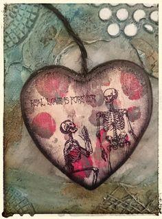 De Stempelwinkel - Designteam      : Real Love Is Forever, Heart