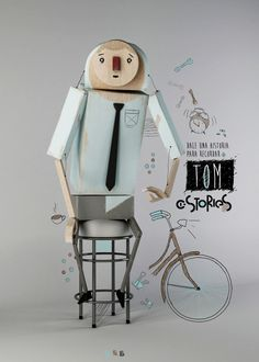 I.Stories - CREATE YOUR STORY by Dalmiro Buigues, via Behance