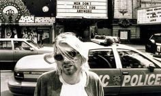 Kurt Cobain of Nirvana pictured in 1993. Photograph: Stephen Sweet/Rex Features | #bw #highprofile #photography