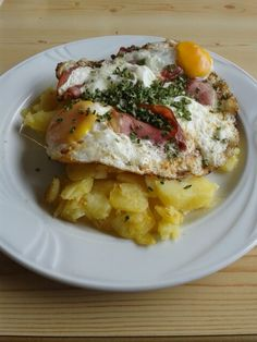 Patate, speck e uova