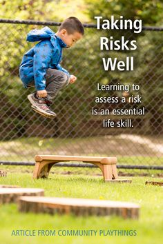 Facing risks is an unavoidable part of life for most adults. The ability for adults to take calculated risks has its roots in early childhood. Yet we are in an era of limiting risk taking by children...Read the full article.