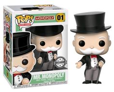 Image result for mr. monopoly pop