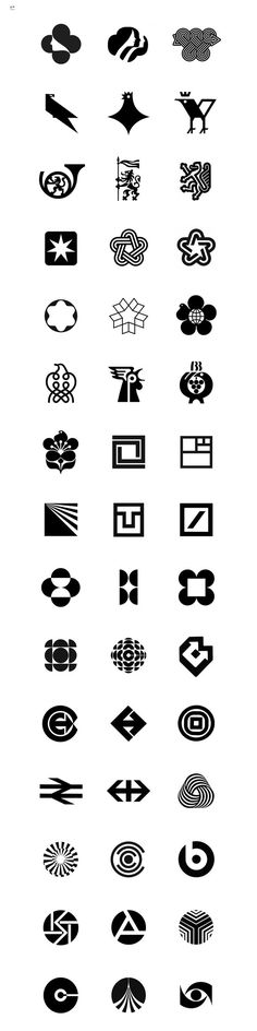 ©™ A collection of modernist trademarks and symbols http://www.c-tm.co.uk