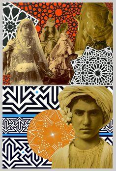 *Exotique* postcards collection Atelier des Italiens - Kasbah, Tanger